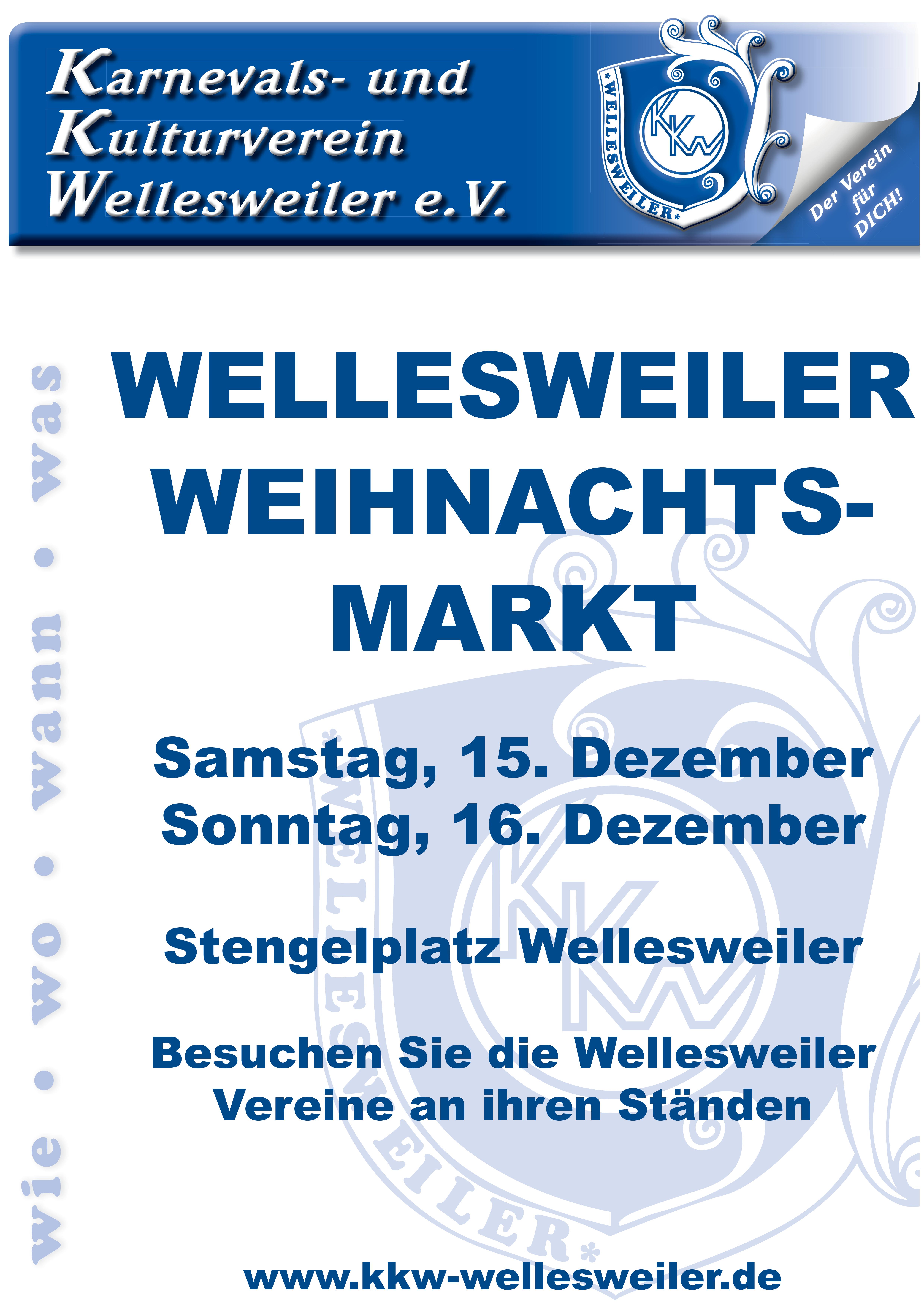 Plakat Weihnachtsmarkt 2018
